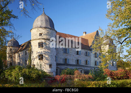 Castle Mitwitz, Bavaria, Germany - Stock Photo