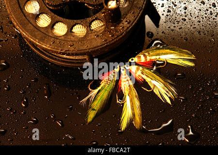 Fly Fishing - Stock Photo