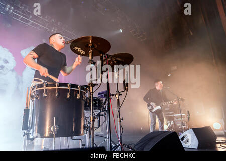 London, UK, 14th Jan 2016. Slaves Live Performance at o2 Kentish Town Forum. © Robert Stainforth/Alamy - Stock Photo