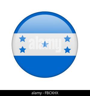 The Honduran flag - Stock Photo