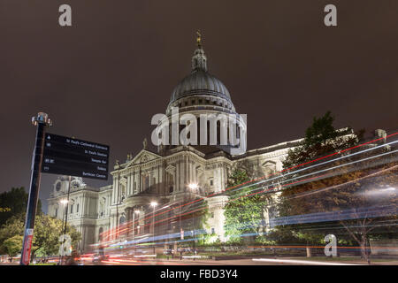 St Paul's Cathedral, London, United Kingdom - Stock Photo
