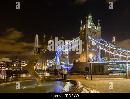 Tower Bridge, London, United Kingdom - Stock Photo