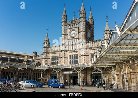 Bristol Temple Meads railway station, UK - Stock Photo