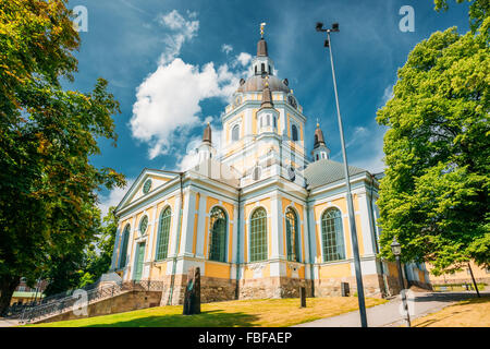 Katarina kyrka (Church of Catherine) is one of the major churches in central Stockholm, Sweden - Stock Photo