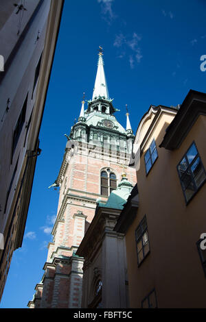 Stockholm is the capital and biggest city of Sweden. - Stock Photo