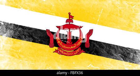 The Brunei Flag - Stock Photo