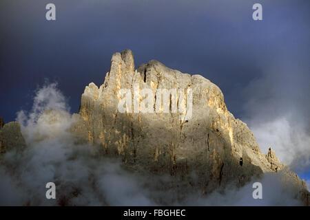 Pale di San Martino, San Martino di Castrozza, Trentino Alto Adige, Italy - Stock Photo