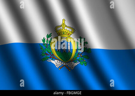 San Marino Flag icon Stock Photo, Royalty Free Image: 116050166 ...