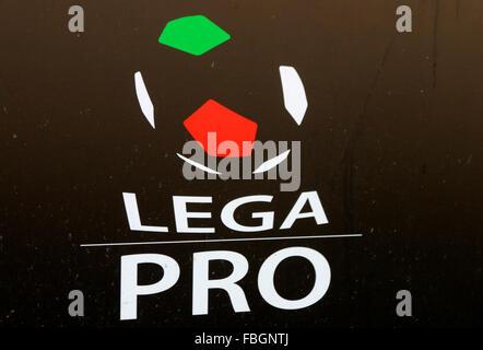 das Logo der Marke 'Lega Pro', Berlin . - Stock Photo