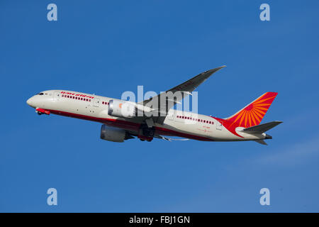 Air India Boeing 787 Dreamliner - Stock Photo