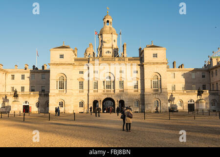 The Old Admiralty Offices now used by Foreign and Commonwealth Office includes Horse Guards Parade - Stock Photo