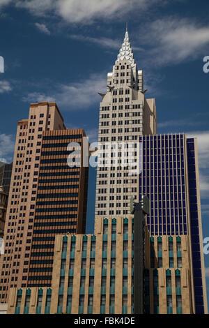 New York Casino and Hotel Las Vegas - Stock Photo