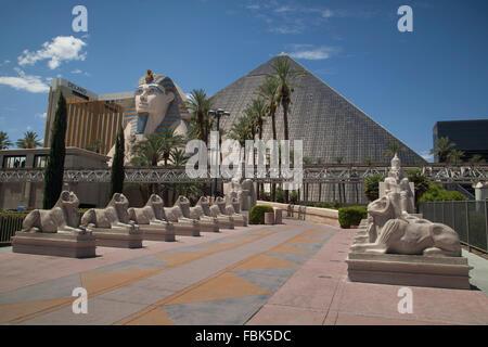 The Luxor Hotel and Casino, Las Vegas