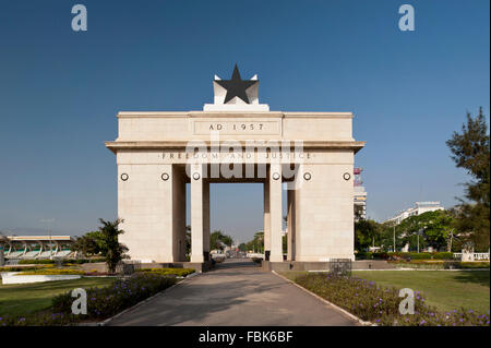 Photo of Independence Arch in Independence Square, Accra, Ghana 2011. - Stock Photo