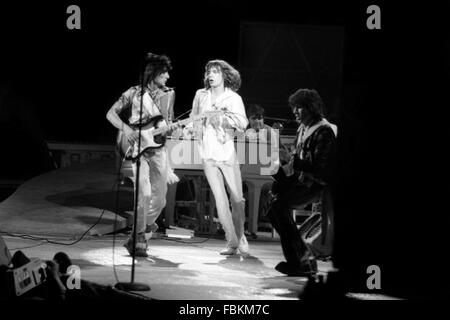 Rolling Stones, Mick Jagger and Keith Richards -  1970  -  France / Ile-de-France (region) / Paris  -  Rolling Stones, - Stock Photo