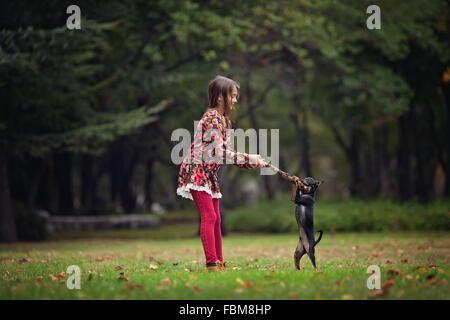 Dog Tug Toy Horizontal