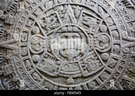 Ancient Mayan Calendar Stock Photo Royalty Free Image 93259274 Alamy