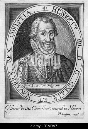 HENRY IV OF FRANCE (1553-1610) - Stock Photo