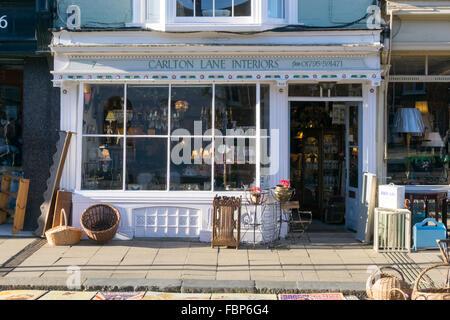 Carlton Lane Interiors in Faversham, Kent. - Stock Photo