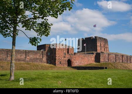Carlisle Castle, Cumbria, Northern England, UK - Stock Photo