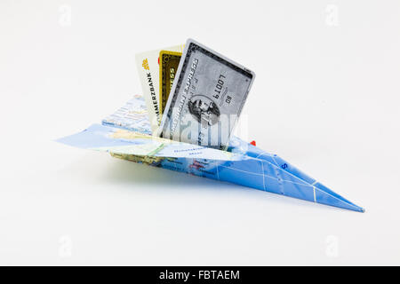 Fly to foreign countries - Stock Photo