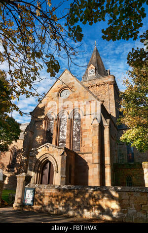 Dornoch Cathedral, Sutherland, Highlands, Scotland, UK - Stock Photo