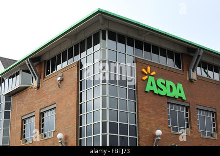 Asda head office in leeds city centre west yorkshire uk - Asda stores ltd head office ...