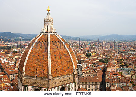 Duomo cathedral in Florence. Italy - Stock Photo