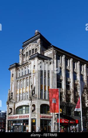 The Kontorhaus Seeburg at Hamburg - Stock Photo