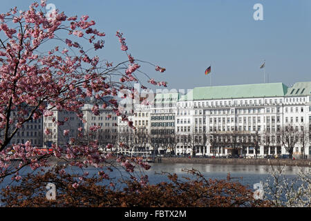 hotel vier jahreszeiten hamburg deutschland hotel four seasons stock photo 28079234 alamy. Black Bedroom Furniture Sets. Home Design Ideas