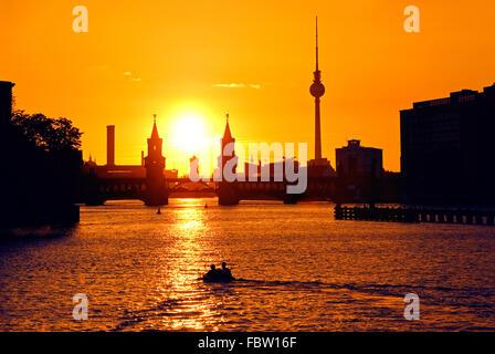 oberbaumbruecke berlin - Stock Photo