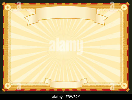 Royal Palace Horizontal Poster - Stock Photo