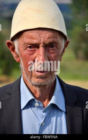 Kosovar Albanian. Balkans. War. Ethnic cleansing. - Stock Photo