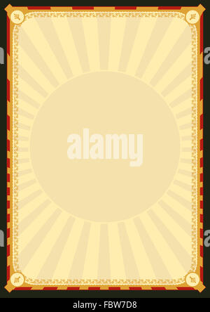 Royal Palace Poster - Stock Photo