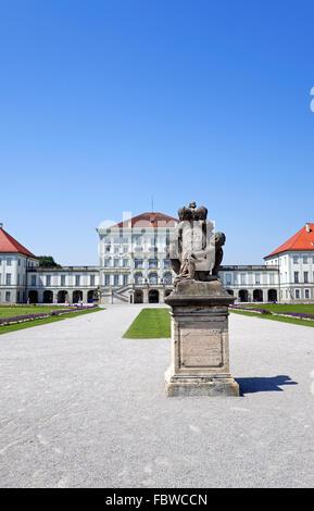 nymphenburg castle munich - Stock Photo