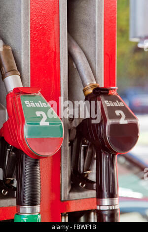 Fuel nozzles - Stock Photo