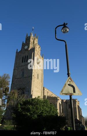 Church steeple - Stock Photo