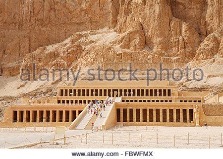 The Temple Of Hatshepsut At Deir El-Bahri