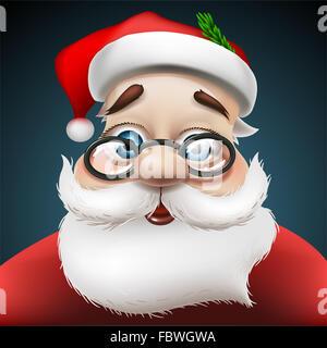 Santa Claus , vector Eps 10 illustration - Stock Photo