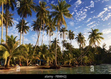 Sunrise on the Koh Kood island, Thailand - Stock Photo