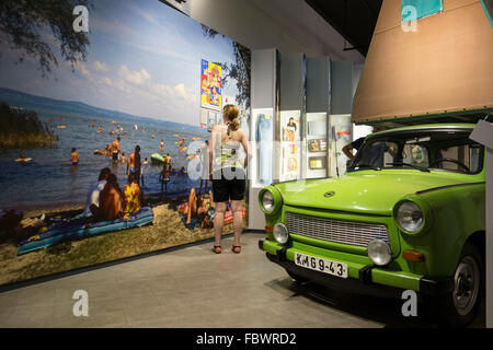 Berlin. Germany. Permanent exhibition 'Everyday Life in the GDR' at Museum in der Kulturbrauerei, Prenzlauer Berg. - Stock Photo