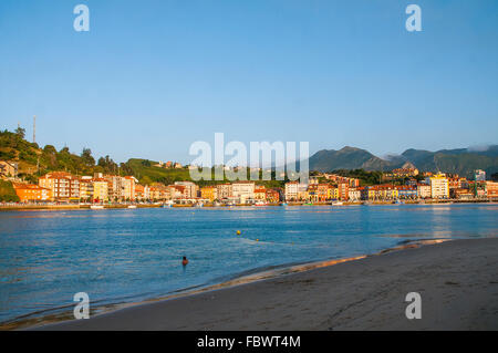 Overview. Ribadesella, Asturias, Spain. - Stock Photo