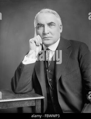 warren gamaliel harding 29th president of The 29th president's extramarital affairs were perhaps the least of his disqualifications for the office he held  warren g harding's terrible tenure.