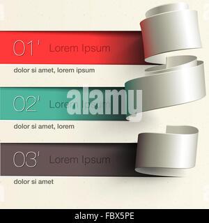 Modern design infographic template - Stock Photo