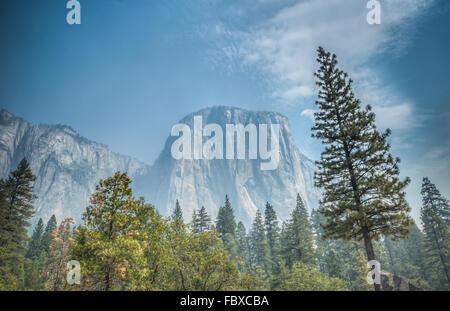 Yosemite mountain - Stock Photo