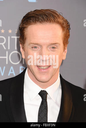 DAMIAN LEWIS English film actor and producer in January 2016. Photo Jeffrey Mayer - Stock Photo
