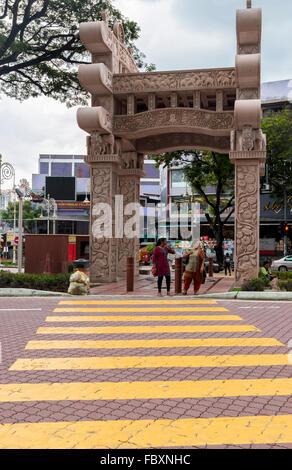 Torana Gate Built Has A Symbol Of Indian Malaysian Friendship In