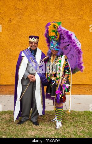 31st ANNUAL Kingdom Day Parade  Louisiana to Los Angeles Organizing Committee, Inc. (LALA) members who work towards - Stock Photo