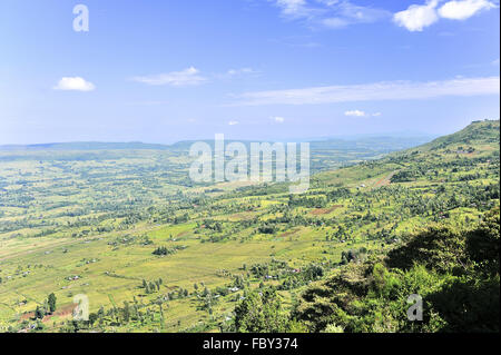 Rift Valley in Kenya - Stock Photo