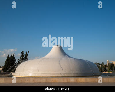 The Shrine of the Book wing of Israel Museum - Stock Photo